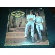 Lp Vinil Chitãozinho & Xororó - Cowboy Do Asfalto Com Encart