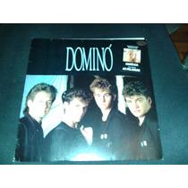 Lp Vinil Grupo Dominó 1988 Com Encarte.
