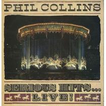 Lp-duplo-phil Collins-serious Hits Ao Vivo-em Otimo Estado