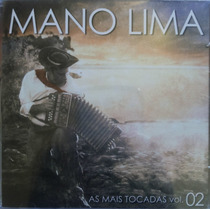 Cd Mano Lima As Mais Tocadas Vol.2