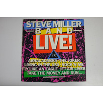 Steve Miller Band Live! - Vinil Lp Abracadabra The Joker