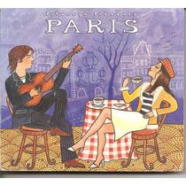 Cd - Paris - Putumayo Presents - Digipack - Importado