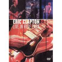Dvd Eric Clapton Live In Hyde Park R$ 24,90+ Frete