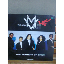 Lp The Real Milli Vanilli The Moment Of Truth C/encarte