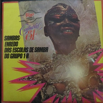 Lp Sambas De Enredo Grupo 1a - Carnaval 84 Rio Vinil Raro