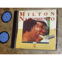 Cd Milton Nascimento - Minha História (1993) C/ Boca Livre