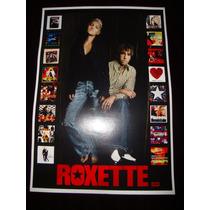 Roxette Poster/cartaz Da Dupla Marie Fredriksson Per Gessle