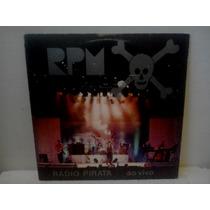 Lp Rpm Radio Pirata Ao Vivo C/encarte