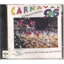 Cd Carnaval 96 Sambas Enredo - Escolas De Samba De São Paulo
