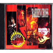 Barren Cross Hotter Than Hell! Live Cd Lacrado (pta Entrega)