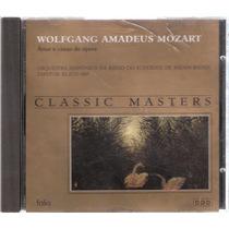 Cd Mozart Árias E Cenas De Ópera - Classic Masters