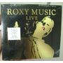 Cd Duplo Roxy Music / Live / Lacrado Frete Gratis