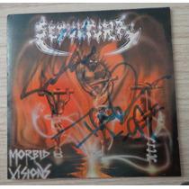 Cd Sepultura Morbid Visions (autografado) - Frete Grátis
