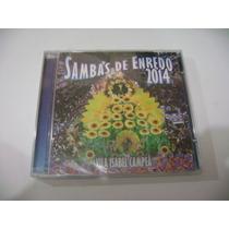 Cd - Samba De Enredo 2014 Rio De Janeiro