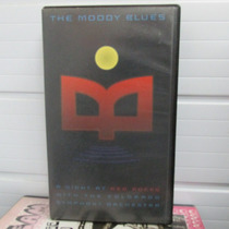 Vhs Moody Blues A Night At The Red Rocks Raridade