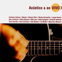 Cd Acustico E Ao Vivo - Ana Carolina, Zelia Duncan, Rita Lee