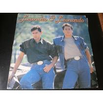 Lp Leandro & Leonardo, Pense Em Mim, Disco Vinil 1990