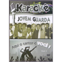 Dvd Karaokê - Jovem Guarda Vol. 1 - Novo***
