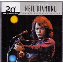 Cd Neil Diamond - The Millennium Collection - Importado Novo