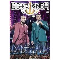 Gigantes Do Samba Ao Vivo Em Sp Dvd Lacrado