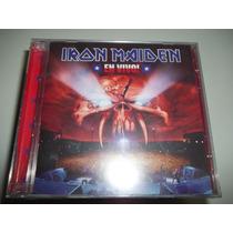 Cd -iron Maiden- El Vivo Argentino Duplo Lacrado