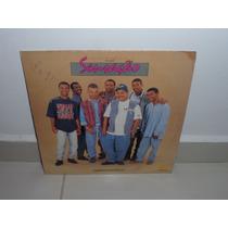 Antigo Disco Vinil Lp Grupo Sensação Canto Nacional