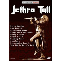 Dvd Jethro Tull - The Classical Masters: Jethro Tull