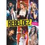 Dvd Rebeldes Ao Vivo Novo Original Nfe