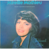 Lp Mireille Mathieu - Fidelement Votre - Ariola (com Encarte