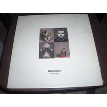 Lp Pet Shop Boys Behaviour Com Encarte