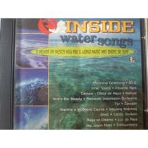 Cd Inside Water Songs New Age E World Music Nas Ondas 1997