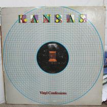 Lp Kansas Vinyl Confessions Importado Ótimo Estado