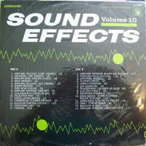 Sound Effects Vol 10 Lp Coletanea