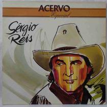 Sergio Reis Lp Nacional Usado Acervo Especial 1993 Encarte