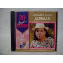 Cd Leonardo- Leonardo Canta Altemar- 20 Super Sucessos