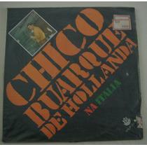 Lp Chico Buarque De Holanda -na Italia -1968