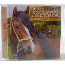 Cd: 20 Grandes Sucessos Gaúchos Vol. 3