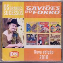 Cd Gaviões Do Forró - Os Grandes Sucessos - Novo***
