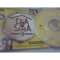 Cd Single Casa D Samba 3 Ivete Sangalo Benjor+ Caetano E Gil