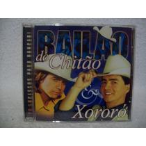 Cd Chitãozinho & Xororó- Bailão Do Chitão & Xororó