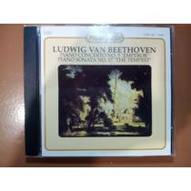 Cd Ludwig Van Beethoven Piano Concerto-piano Sonata