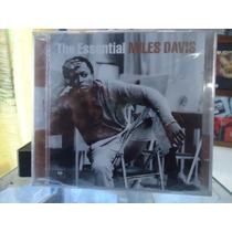 Miles Davis-the Essential-duplo-novo,lacrado-frete Grátis!!!