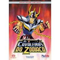 Os Cavaleiros Do Zodíaco Santuário Vol. 5 Dvd Original