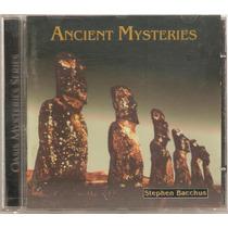 Cd Stephen Bacchus - Ancient Mysteries ( Importado Usa 1993