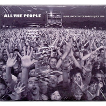 Blur All The People Live At The Hyde Park 2009 2 Cds Raro No