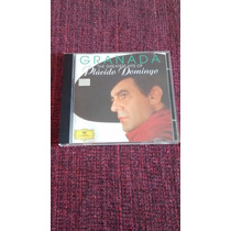 Cd Granada: The Greatest Hits Of Plácido Domingo.
