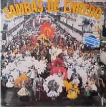 Lp Sambas De Enredo Escolas De Samba De São Paulo 89