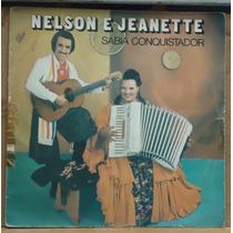 Lp (018) Gaúcho - Nelson E Jeanette - Sabiá Conquistador