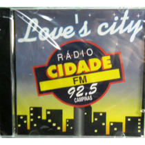 Dance Funk Disco Pop Cd Love`s City Radio Cidade Fm Lacrado