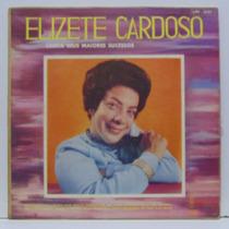 Lp Elizete Cardoso - Canta Seus Maiores Sucessos - Continent